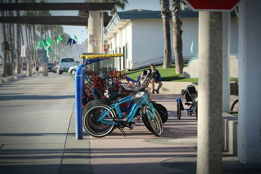 Bicycle Day Transportation Outdoors Sunlight Oceanside Pier Oceanside Afternoon Oceanside, Ca