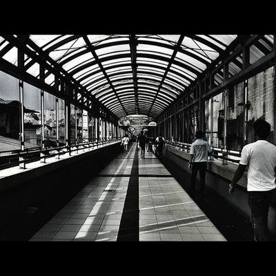 Igbest IGDaily Igmanila Monochrome_asia Ig_philippines Streetstyle Streetphotography Blacknwhite_perfection Bnw_city Bnw_manila Bnw_philippines Train Station Structure