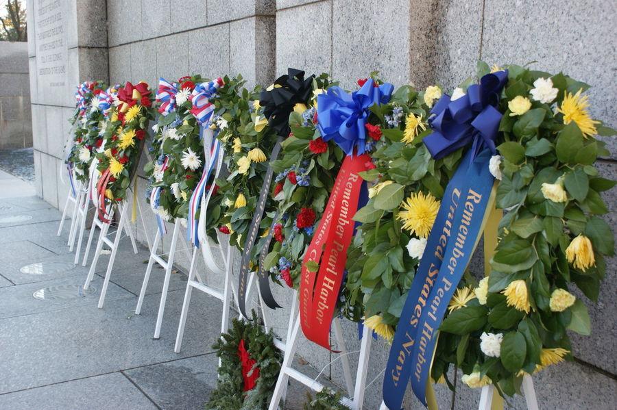 Memorial Pearl Harbor Pearl Harbor Memorial Veteran Veterans Veterans Memorial Veterans To Remember Washington DC Washington, D. C. Wreaths