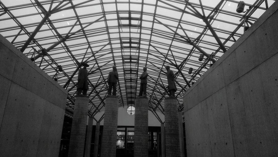 Architecture Blackandwhite Uniwersity Underground Warsaw Poland