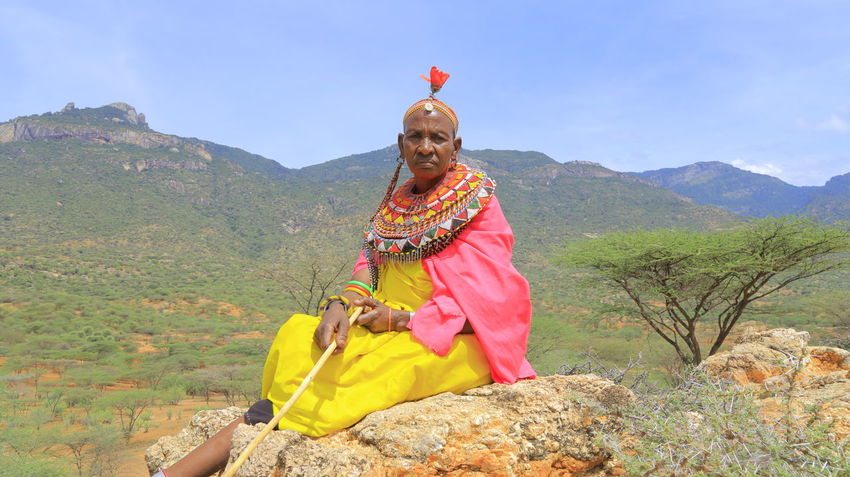 A Samburu Woman dressed in traditional attire. Below Mt. Nyiro, South Horr, Northern Kenya. EyeEm Best Shots Canonphotography Canon 6D Eye4photography  Canon