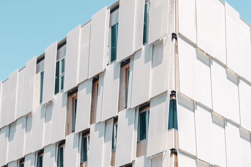 - A = ARCHITECTURE - The Architect - 2018 EyeEm Awards Check This Out! Berlin Photography Modern Living Architecture Modern Architecture Architecture Building Exterior Built Structure Low Angle View Building Window Day No People Wall - Building Feature Clear Sky Sky Outdoors City Sunlight Pattern Modern In A Row