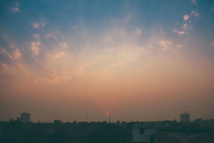 Sunlight Building Exterior Built Structure City Cloud - Sky Day Modern Nature No People Outdoors Sky Sun Sunset EyeEmNewHere