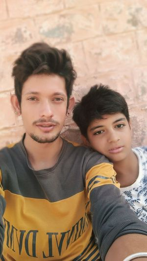 Selfie With Boy People Love Looking At Camera Close-up Day Friendship Lifestyles Child🤗😍😘😘
