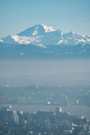 Ghost-city view from Cypress Mountain. From My Point Of View Landscape Vancouver Canada Mountains