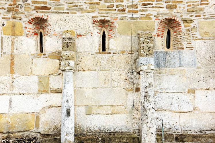 Exterior of densus church