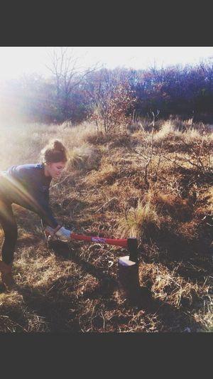 Hands On Firewood Lumberjack Autumnchores