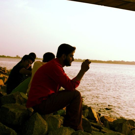 Another random click... Probably by @natural_sidharth at Dhurwadam ... Canoneos450D Sunset Nature ..