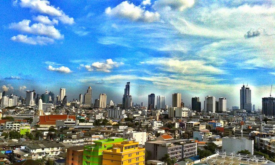Thailand Sky Blue Sky  Bluesky LovelyPicture Art Imagine