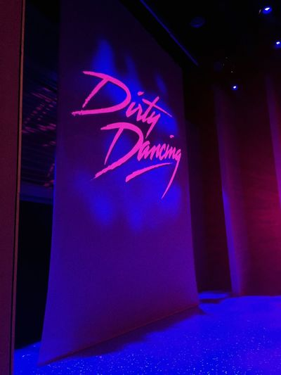 Dirty Dancing Preshow DDUST Tourlife Theatre Backstage