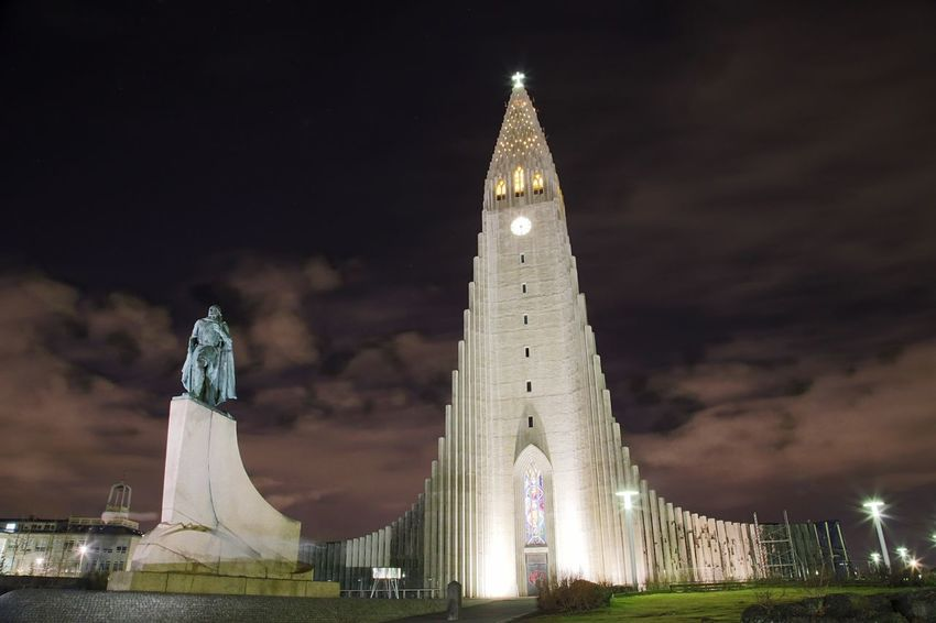 EOS 6D EF 24-105mm Iceland Night Landmark Landscape Architecture