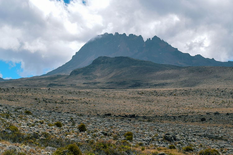 Mawenzi Peak In