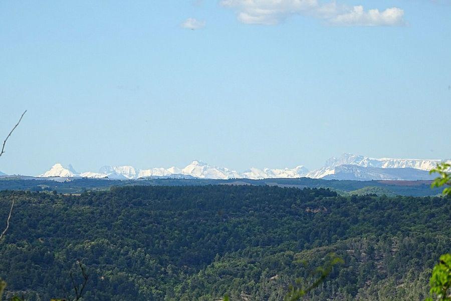 Neige ❄ Snow Ciel Alpes-de-Haute-Provence Tree Cloud - Sky Sky Blue Scenics Paysage De France Mountain Montagnes 🌲🍃 Nuages Et Ciel Nuages Beauty In Nature Tranquility Outdoors Nature