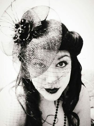 Happy Halloween That's Me Halloween Makeup Halloween🎃 Blackandwhite Vintage Style Vintage Fashion Halloweenparty Halloweencostume