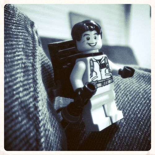 Billy Murray Minifig LEGO Ghostbusters Monochrome Filmitation
