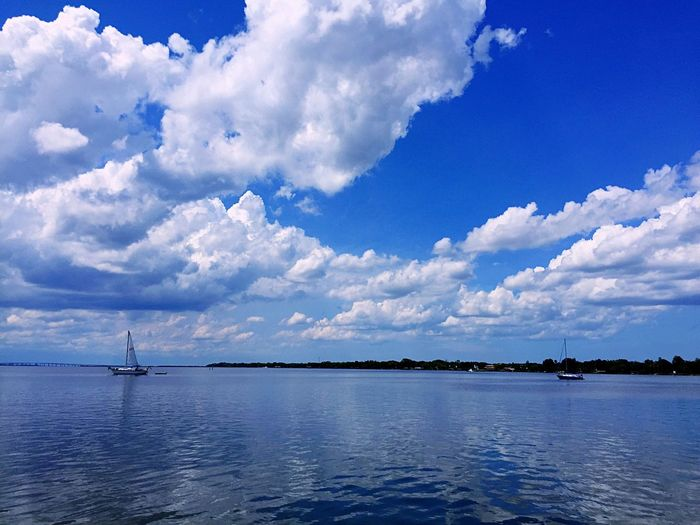 43 Golden Moments The Great Outdoors - 2016 EyeEm Awards The Journey Is The Destination Showcase July Relaxing Fine Art Photography Taking Photos Hanging Out Hidden Gems  Sky And Clouds Florida Once In A Lifetime People Together Sail Away, Sail Away Sail Away Sailboat