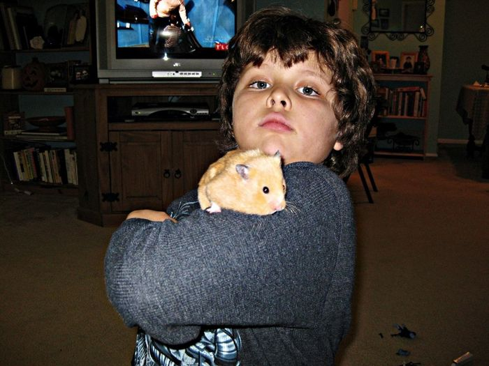 Hammy The Hamster & Friend