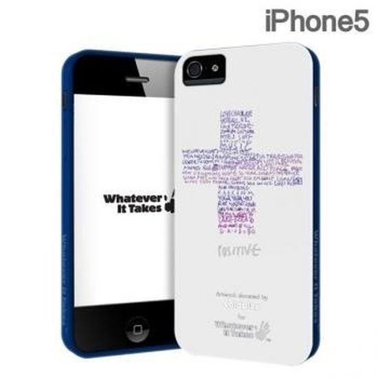 Iphone5 Whatever It Takes:premium Gel Shell Artwork By Coldplay RM65