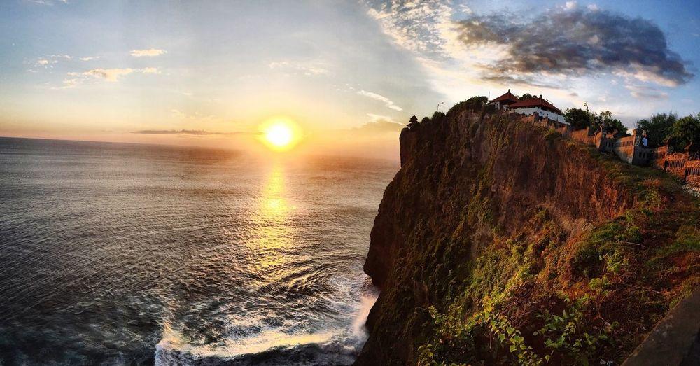Baliphotography Baliventure Sunset Templebythesea