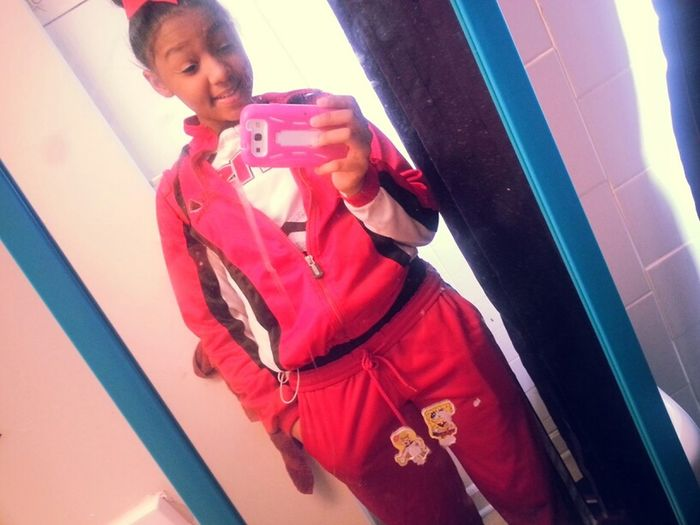 Before My Game. Go Mustang's! <3