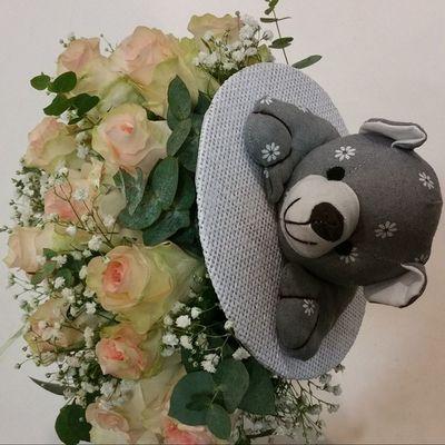 Para una nueva viguesa. 💗 Alea Alefloristerias Nacimiento Birthday Flores Flowers