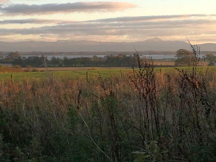 Dol fodha na grèine an Anainn, Sasainn air cùlaibh Nature Landscape Rural Scene No People Sky First Eyeem Photo