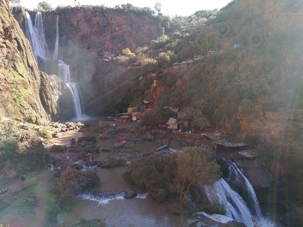 Beauty In Nature Day Nature Outdoors Ouzoud Ouzoud Falls Scenics Tree Vacations Water Waterfall