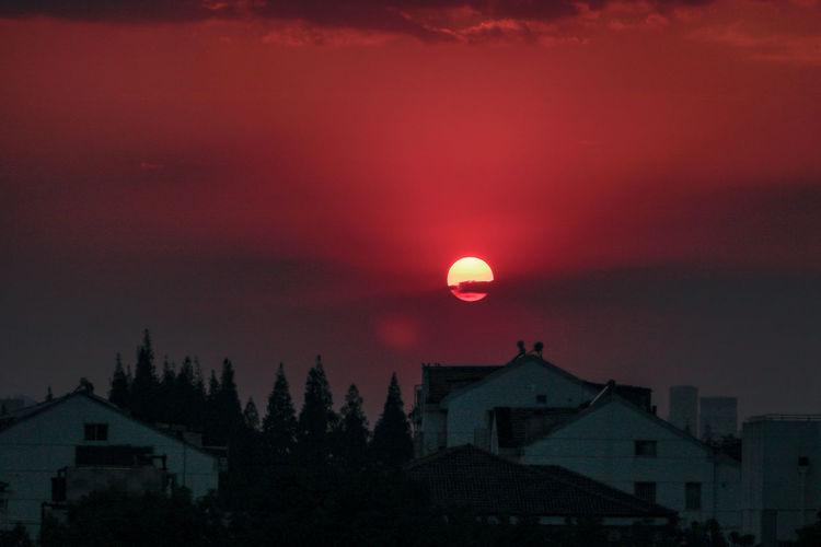 落日余晖sunset