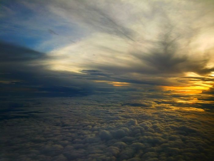 Flying Cloudscape Beauty In Nature Cloud - Sky Tranquil Scene Dramatic Sky The Dream To Fly Travel Photography Traveller Traveling The World Bali Sky INDONESIA Fresh On Eyeem  Flying High