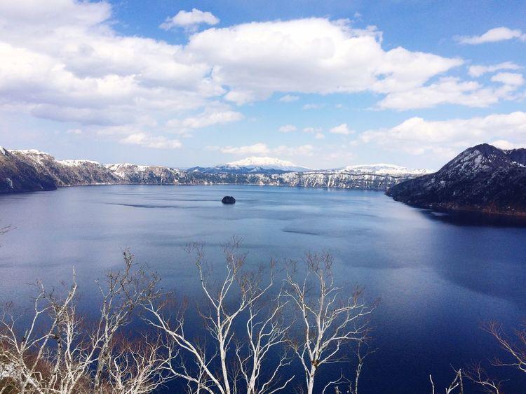 Nature Water Sky No People Outdoors Beauty In Nature Scenics Tranquil Scene Day Lake Mountain 摩周湖 Hokkaido Japan