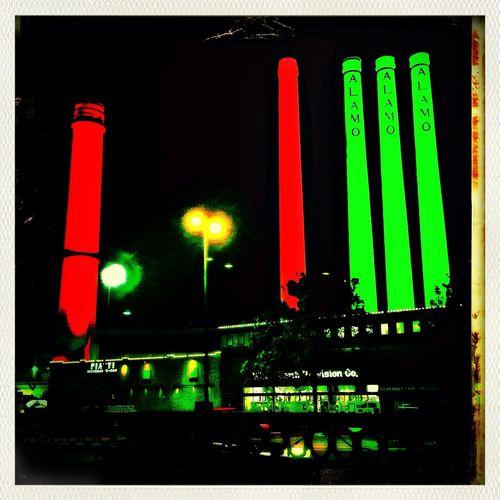 Christmas Lights Snapseed