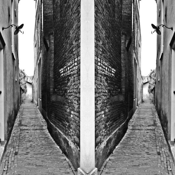 Trompe-l'œil Black And White Monochrome No Edits No Filters Yeah Right! Double Fun