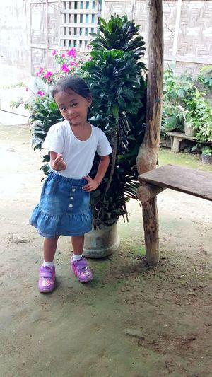 Cute Girl Farm