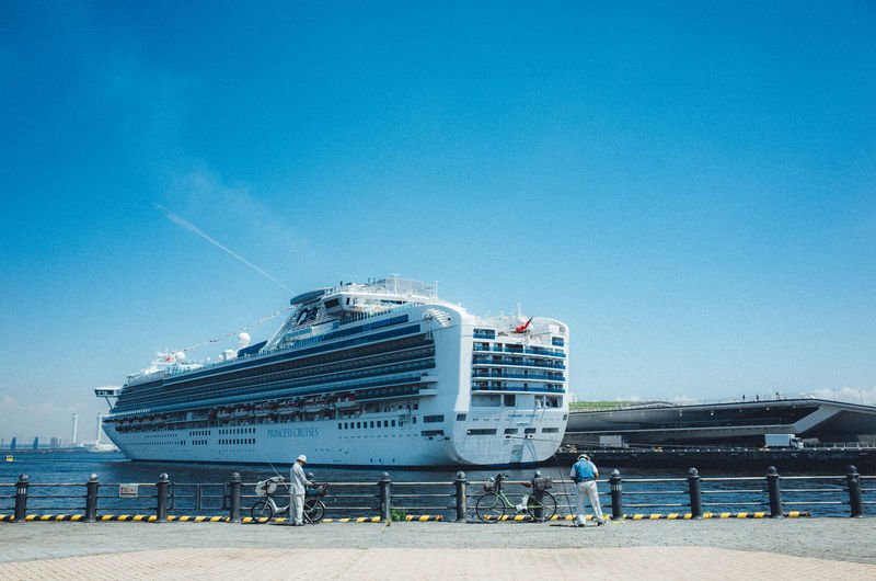 Bay Area Daytime Holiday Japan Japan Lovers Ocean View Simple Moment Tranquility Travel Trip Yokohama Architecture Bay Bayside Blue Boat Building Exterior Built Structure Clear Sky Copy Space Cruise Cruise Ship Day Ferry Fishing Landscape Mode Of Transportation Nature Nautical Vessel New Vintage No People Ocean Outdoors Passenger Craft People Public Transportation Sea Ship Sky Tourism Transportation Travel Travel Destinations Water #urbanana: The Urban Playground My Best Photo