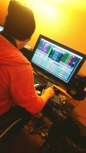 Hard at Work UpperClassDirtbag Music Producer UCDMG ScrappySkates NewYear Newmusic  JKM