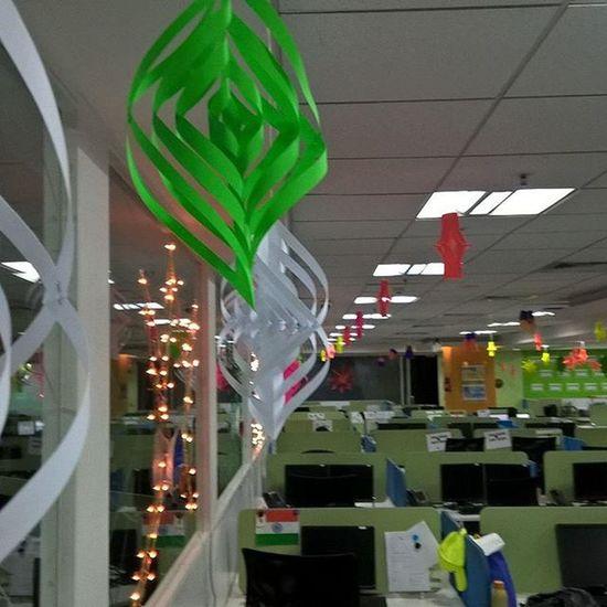 Christmas2015 Celebration Allready Started Dimensiondata Manyata_tech_park Bengaluru Hangings  Handmade Beautiful Lantern Picoftheday ThroughMyLens Throughmyeyes
