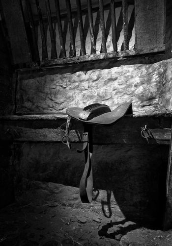 Monochrome Photography Black And White Photography Bnw_collection Bnw_captures Scotland Burns Cottage Saddle Horse Tack Riding Stall