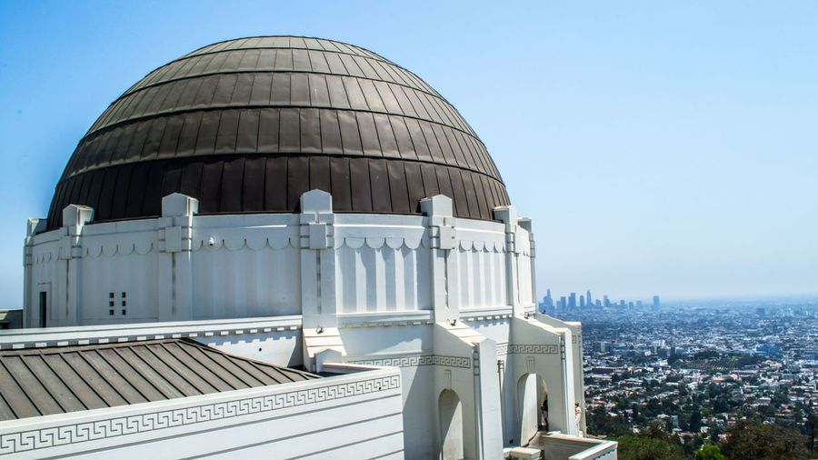 Griffith Observatory and Panoramic Views of LA Cali California City Dome Friendlylocalguides Griffith Landscape Losangeles Mustsee Observatory Panorama Panoramic USA Views