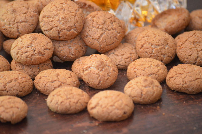 italian cookies amaretti Food And Drink Food Healthy Eating Freshness Snack No People Cookie Sweet Food Close-up Ready-to-eat Food Styling Gourmet Dessert Eating