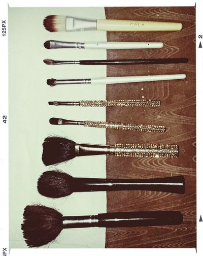 Makeup ♥ My Cute Brushes ❤