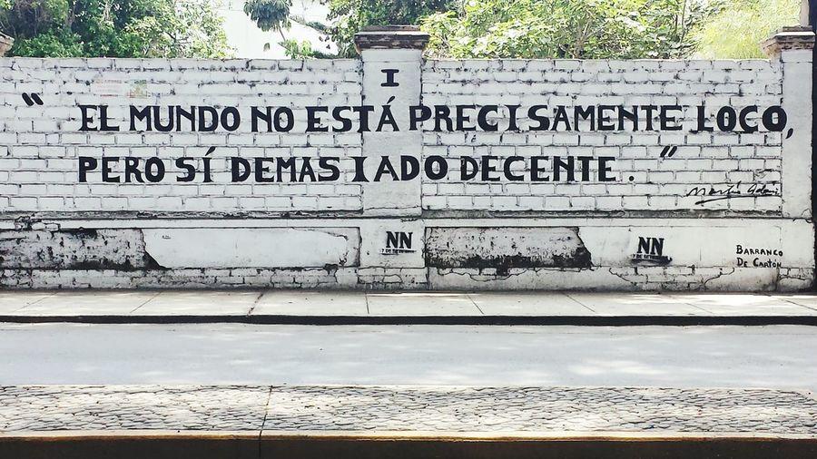 Summer ☀ Poesia Urbana Poesie Lima-Perú Barranco Lima Muralart