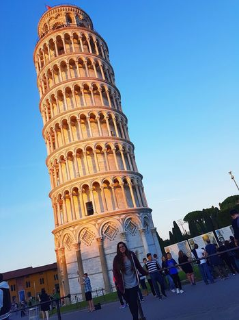 Travel Destinations Architecture History Tourism Travel Arch Old Ruin Ancient Built Structure Vacations Large Group Of People Adult People Building Exterior Outdoors Ancient Civilization Day Adults Only City Sky Pisa Tower Pisa Cathedral Pisa Baptistery Pisa Italy Italy