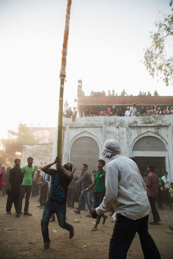 Scenes from a procession of Muharram in Lucknow, India #Mourning of Muharram is a set of #rituals associated with #Shia #Islam. The event marks the anniversary of the #Battle of Karbala when Imam Hussein was killed by forces of Yazid I. Festival Islam Moharram Muharram Relaxing Streetphotography The Photojournalist - 2016 EyeEm Awards The Street Photographer - 2016 EyeEm Awards Eyeemphoto Dramatic Angles Enjoy The New Normal