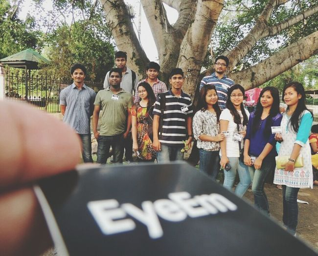 EEA3 - Guwahati Friends Seniors Check This Out Thanks a lot to all my dear friends ,seniors for joining the event. The Global EyeEm Adventure 3