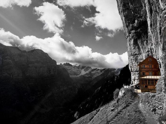 Äscher Swiss Mountains Switzerland
