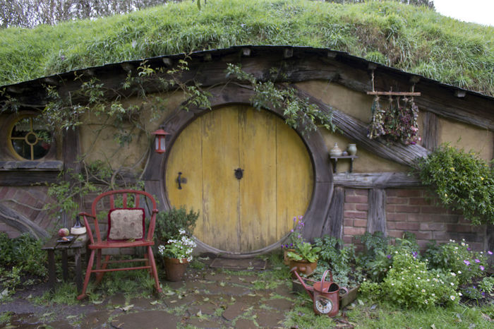 House Architecture Built Structure Wood - Material No People Travel Destinations New Zealand Matamata NZ Hobbit House Hobbiton