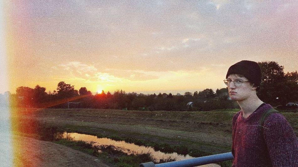 Sunset Women Men Sky