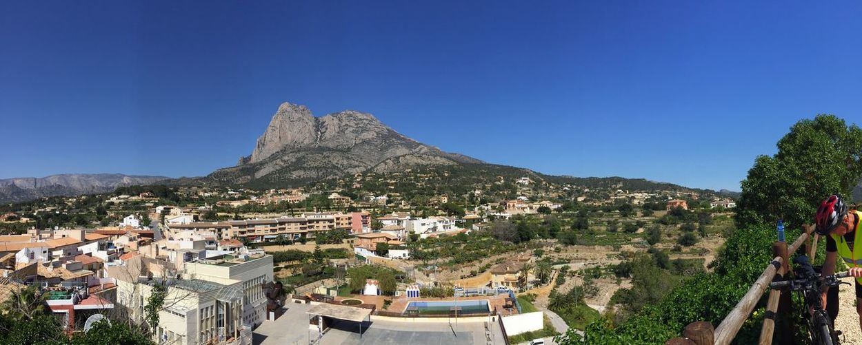 View point from Finestrat:). It Is Beautiful. Mountain Checkitoutworld Outdoors SPAIN