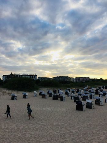 Beautiful sky Cloud - Sky Sky Group Of People Crowd Real People Nature Land Adult Day Sea Sand Lifestyles Built Structure Sunset Beach Outdoors Architecture Large Group Of People Men