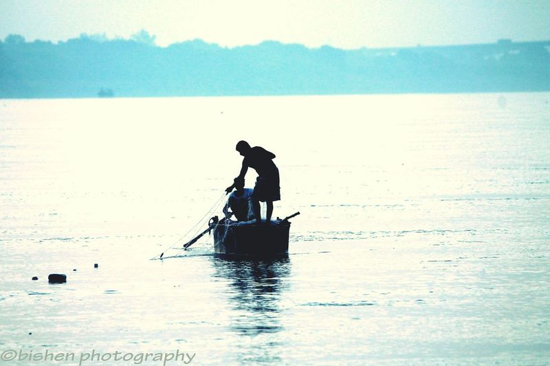 The Holy River Ganges, Varanasi,India First Eyeem Photo